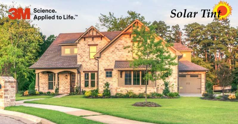affluent home with 3m authorized dealer logo