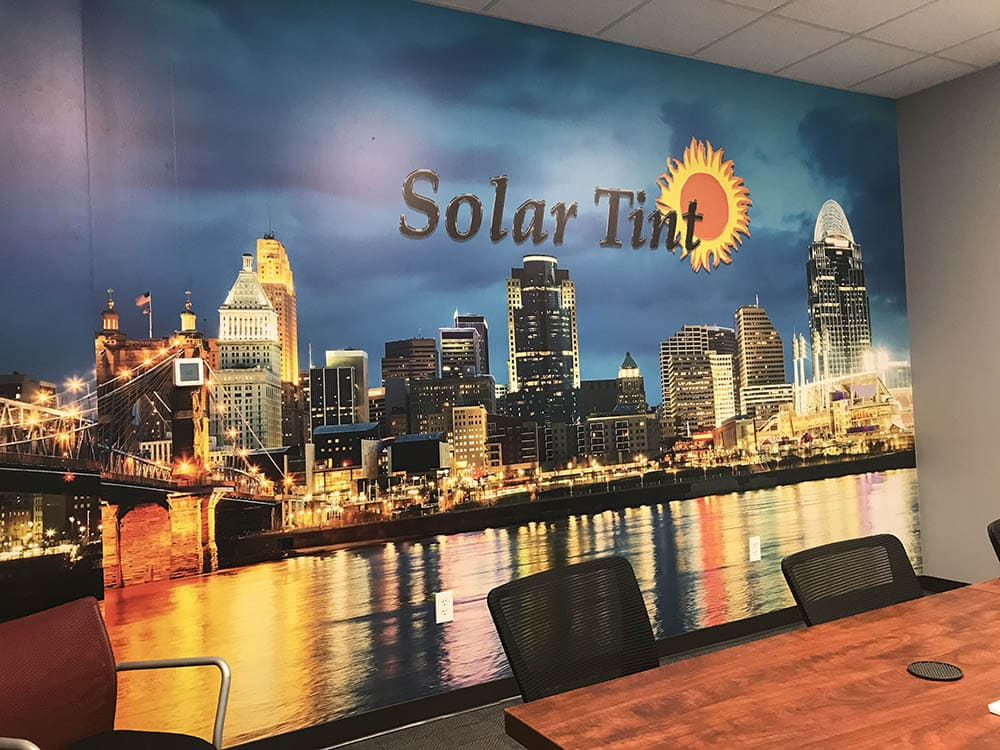 Solar Tint offices in Cincinnati, Columbus, Dayton, and Covington.