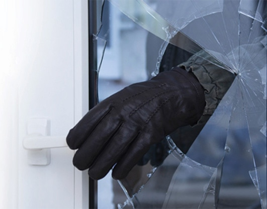 3M security window film fortifies windows and is a great addition to security systems
