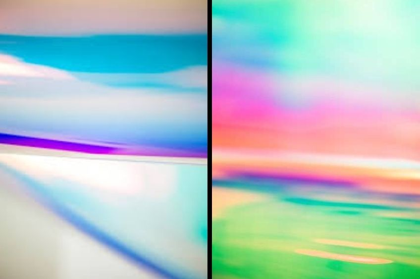 dichroic glass finishes